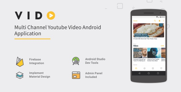 Free Download] Vido - Android Youtube Multi Channel 1 2