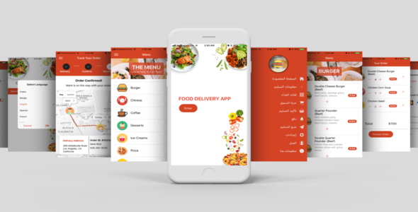Free Download] Restaurant Food Delivery Template UI App