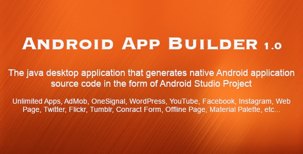 Free Download] Android App Builder
