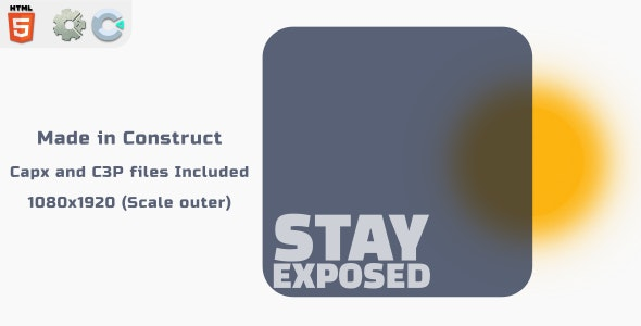 [Free Download] Stay Exposed - HTML5 Skill Game